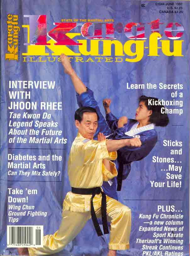 06/90 Karate Kung Fu Illustrated